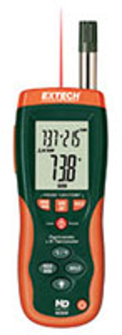 Extech Psychrometer +30:1 IR Thermometer