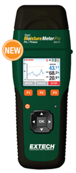 Extech Wireless Pin/Pinless Moisture Meter with METERLiNK