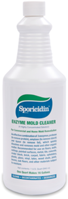 Sporicidin Enzyme Mold Cleaner