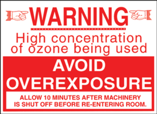 Ozone Caution Sign