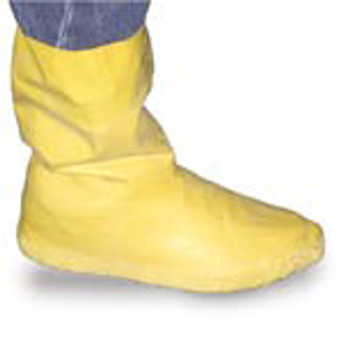 "SHOE COVERS LATEX ""HAZMAT"" L 12"" YELLOW LARGE 7-9"