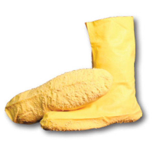 Yellow Latex Boot Covers - XL