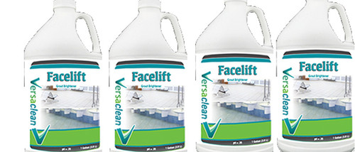 Face-lift cleaning hard water sufaces
