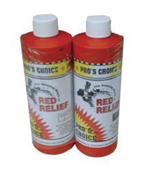Case Lot Red Relief 3 Gallons Total Of Sol. A & B