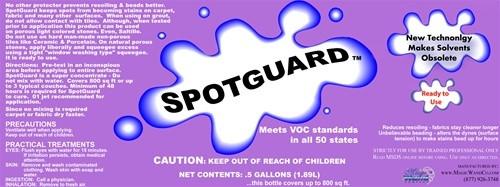1/2 Gallon Of Spot Guard Dry Sealer Protector