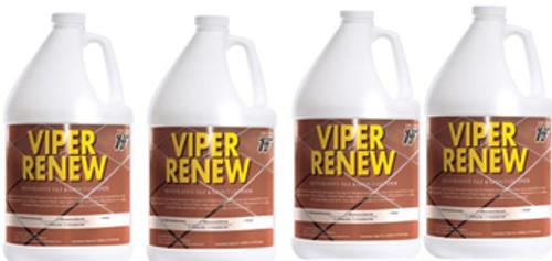 Viper Renew bathroom cleaner Case 4 Gallons