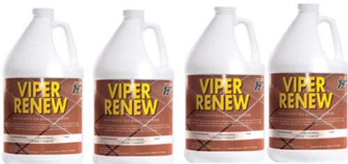 Viper Renew bathroom cleaner Case 4 Gallons