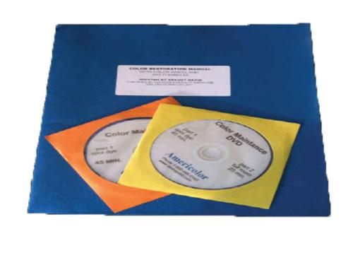 Carpet Dye manual with dvd