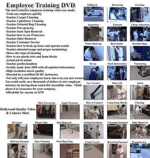 Employee training DVD