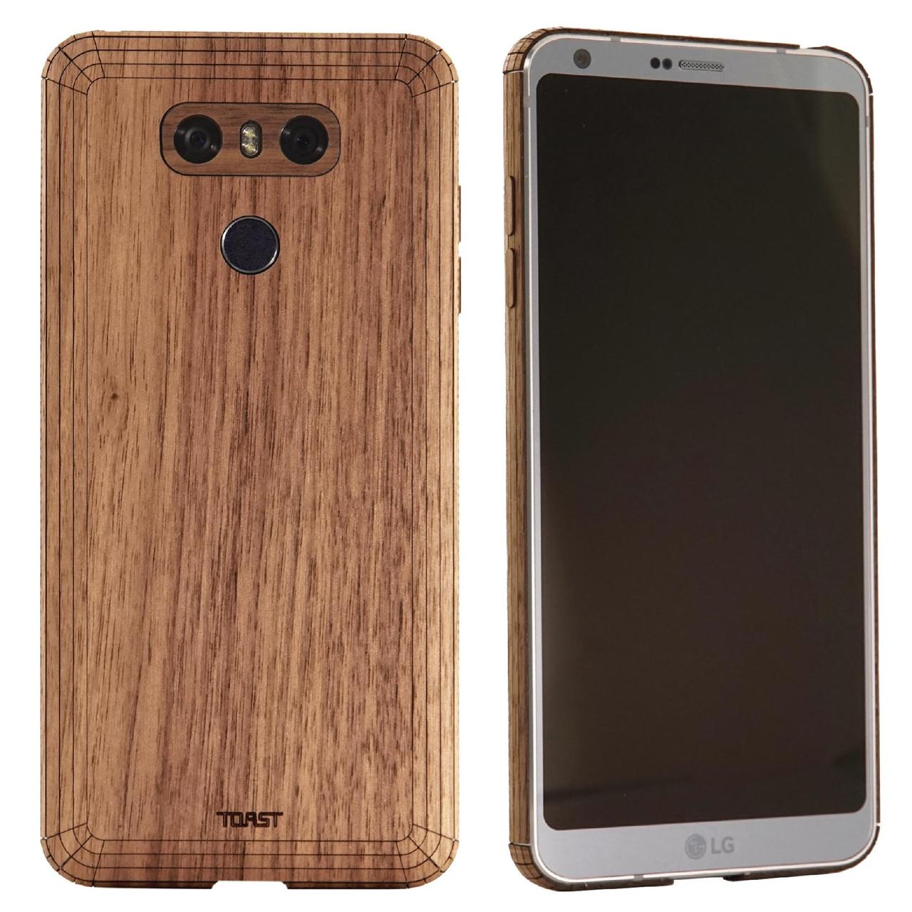 newest b9f04 dfe64 LG G6 wood cover