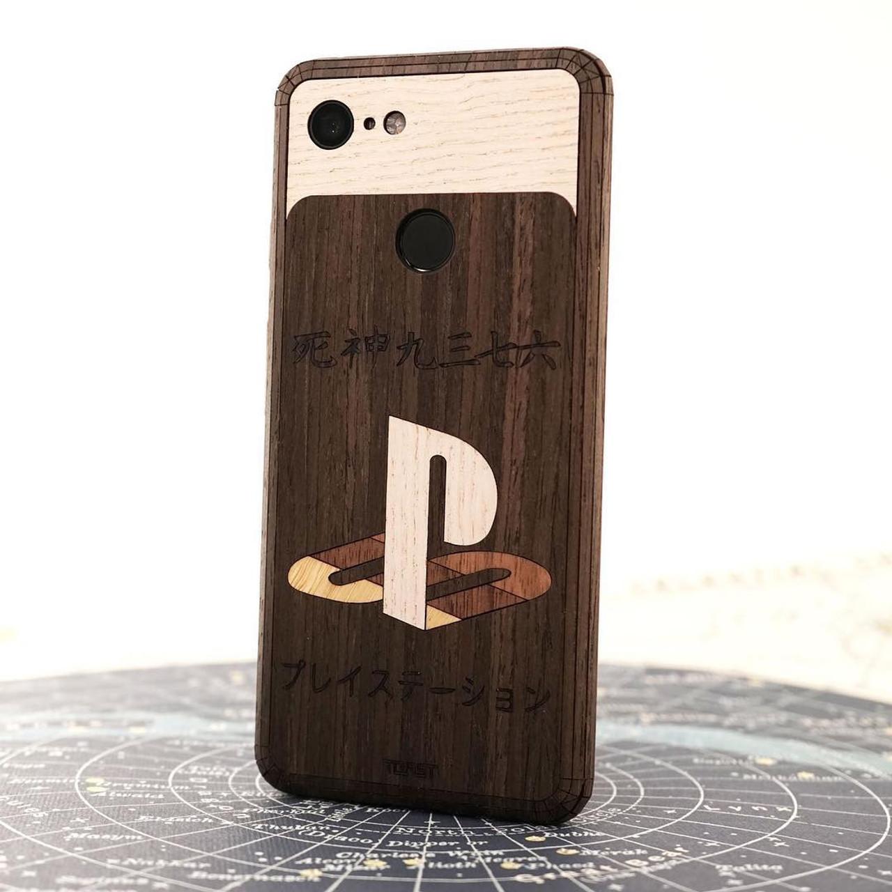 huge discount a5798 ad6ed Custom Wood Phone Covers