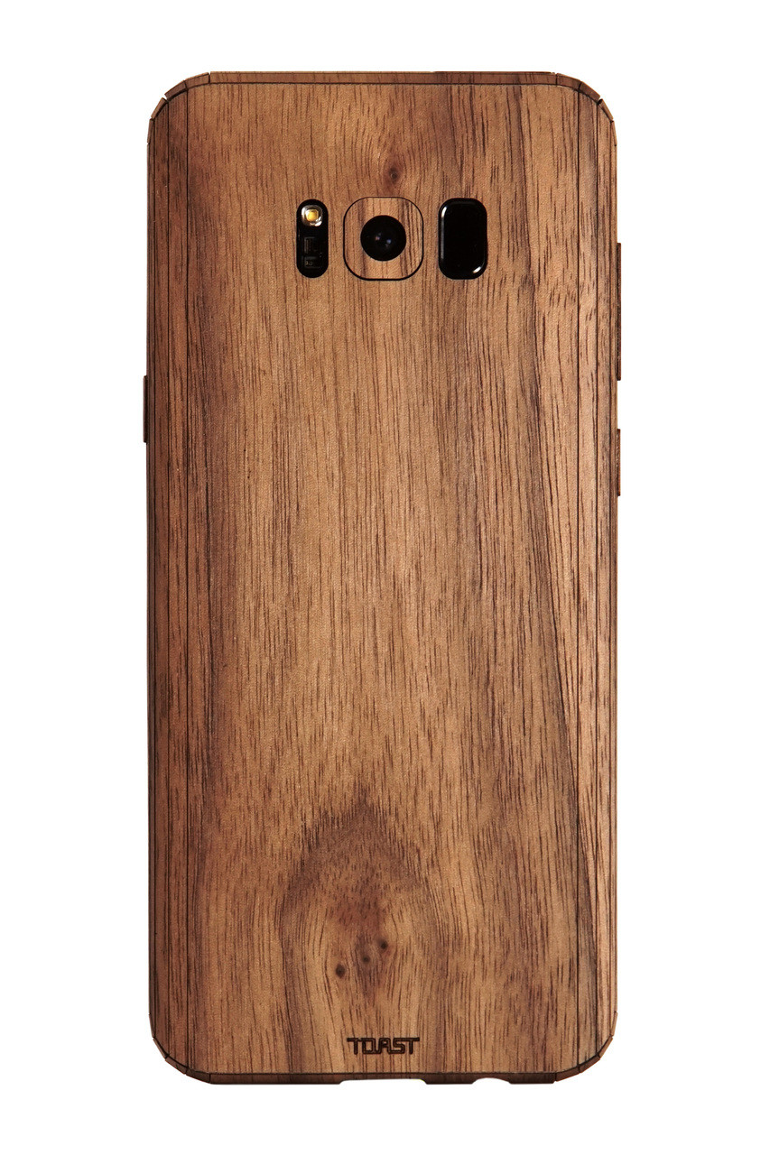 hot sale online bb20c ec56c Galaxy S8 / S8+ wood cover