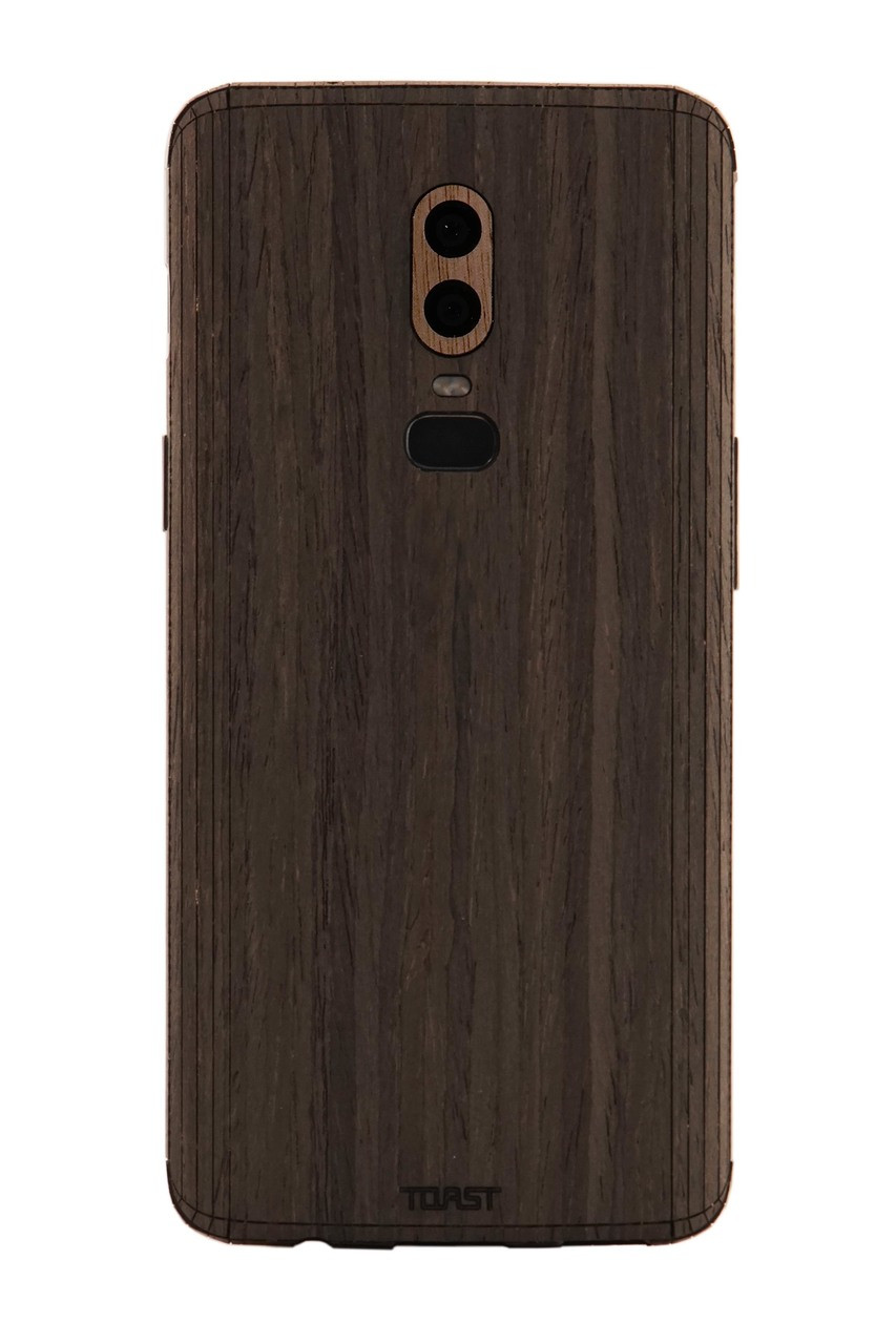sports shoes c8640 dd0bd OnePlus 6 / 6T wood cover