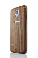 Galaxy S5 (SGS5) Walnut edge view