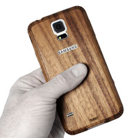 Galaxy S5 (SGS5) Walnut back panel
