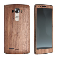 LG G2 / G3 / G4 (LGG) Walnut back and front panel