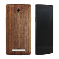 OPPO Find 7a (OFD7) Walnut back panel with edge view