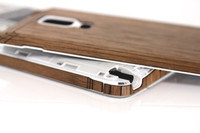 Note 4 (SGN4) Walnut back panel edge view