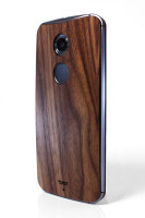 Moto X (2nd Gen) (MOTX2) Walnut edge view
