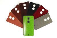 Moto X (2nd Gen) Leather (MOTX2-21) back panel color options
