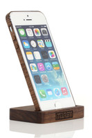 iPhone 5 Display Stand Walnut with Walnut edge