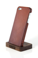 iPhone 5 Display Stand Walnut