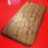 Custom Phone Cover Walnut back panel