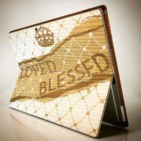 Custom Wood Tablet Covers