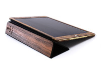 Custom Tablet Cover Walnut front panel