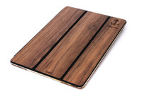 Custom Tablet Cover Walnut