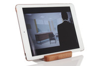 Universal Tablet Stand with iPad - landscape