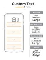 Galaxy S6 / S6 Edge / S6 Edge Plus wood cover