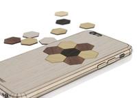 Decorative Inlay Series Ash Hexagon