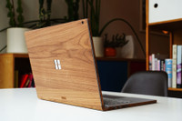 Toast Surface Book cover in walnut.
