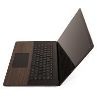 Surface Laptop 3 with ebony trackpad surround.