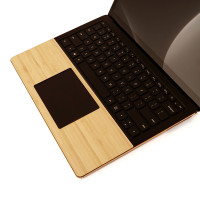 Toast wood trackpad surround in bamboo.