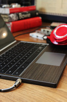 Ebony Chromebook Pixel with Keyboard Surround