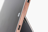 Tablet Side Wraps in Walnut