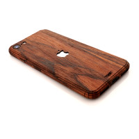 Toast wood iPhone SE (2nd gen) cover in rosewood.