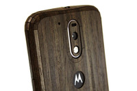 Moto G4 Ebony finished mobile cover