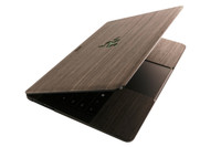 Razer Blade laptop wood cover