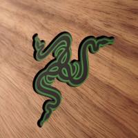 Razer laptop wood cover