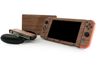 Nintendo Switch & Dock wood cover