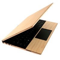 """Dell XPS 13"""" 7390 wood cover in maple, by Toast."""