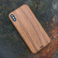 iPhone X / XS / XR / XS Max wood cover