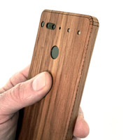 Essential Phone wood cover