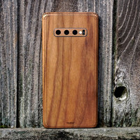 Galaxy S10 / S10+ wood cover