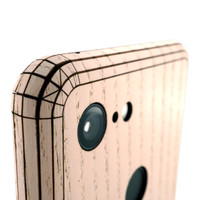 Pixel 2 Toast Cover in ash, detail.