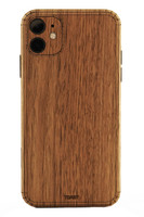 Toast iPhone 11  wood cover in walnut.