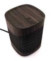 Toast wood cover from Sonos One Play in ebony.